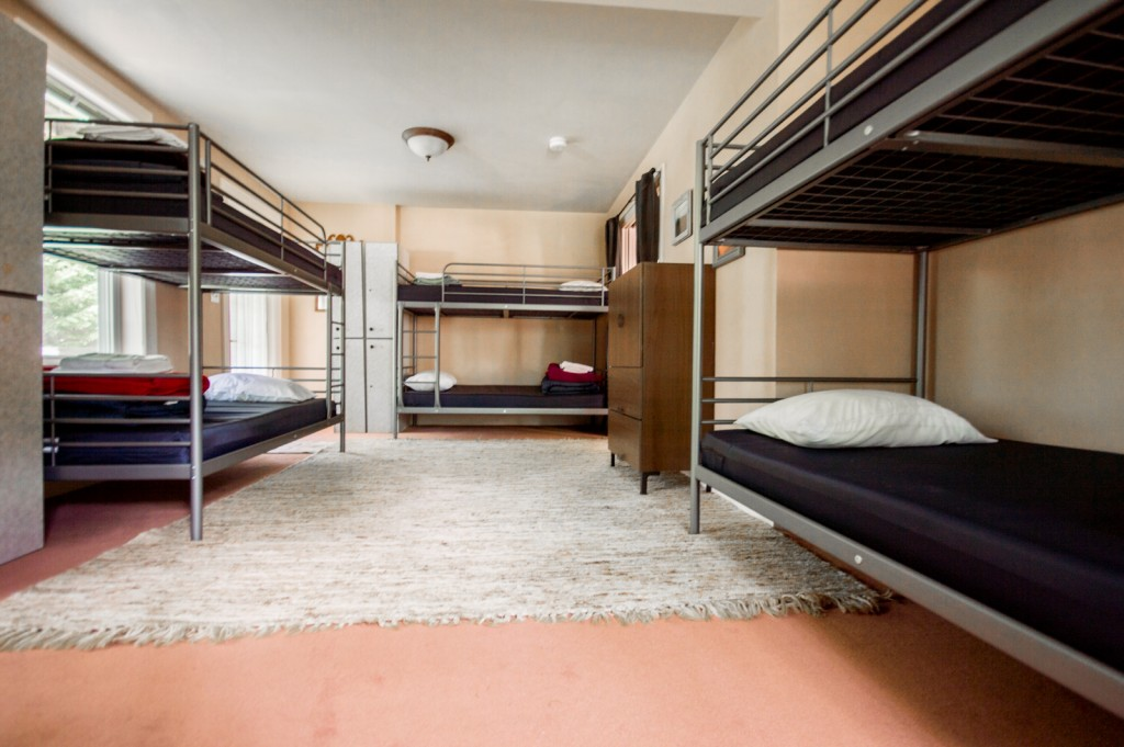 Pinkham room, Notch Hostel, White Mountains, NH