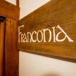 Franconia room sign, Notch Hostel, White Mountains, NH