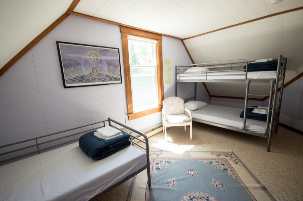 Kinsman Room, The Notch Hostel, White Mountains, NH