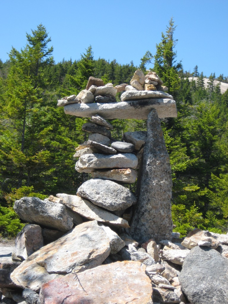Welch summit cairn
