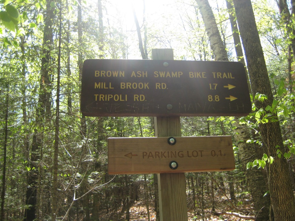 Brown Ash Swamp Bike Trail