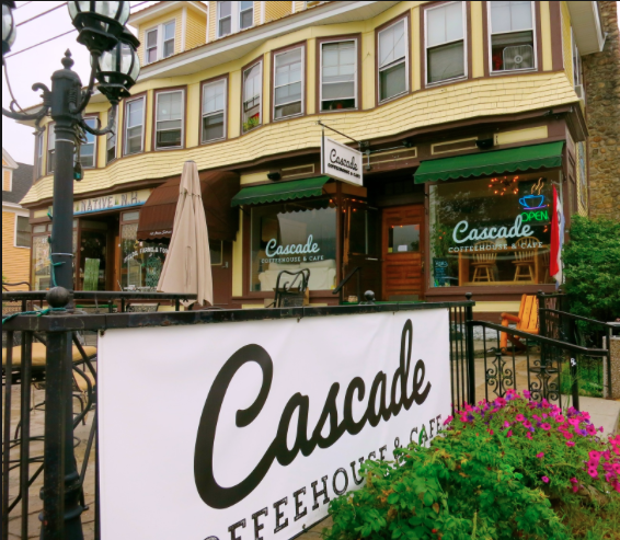 Cascade Coffeehouse is located near the Notch Hostel in the White Mountains, NH