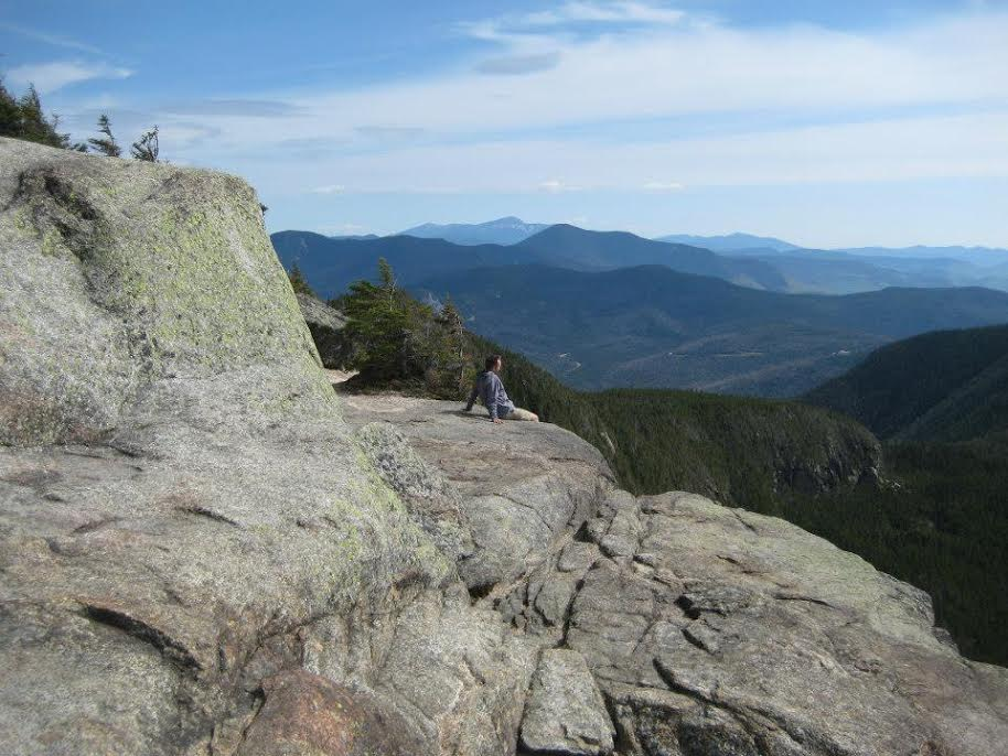 View from Mt. Osceola in the White Mountains