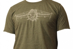 LIMITED!!! Front of Basecamp Heather Military Green