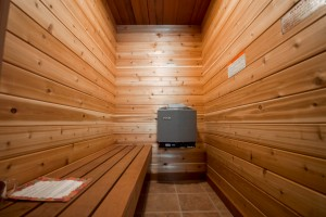 Sauna, The Notch Hostel, White Mountains, NH