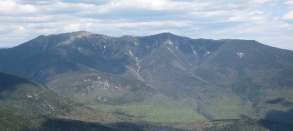View of Franconia Ridge from North Kinsman