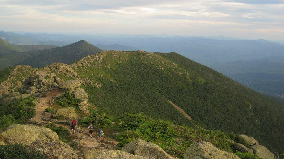 Franconia Ridge in the White Mountains. Plan your adventure today!