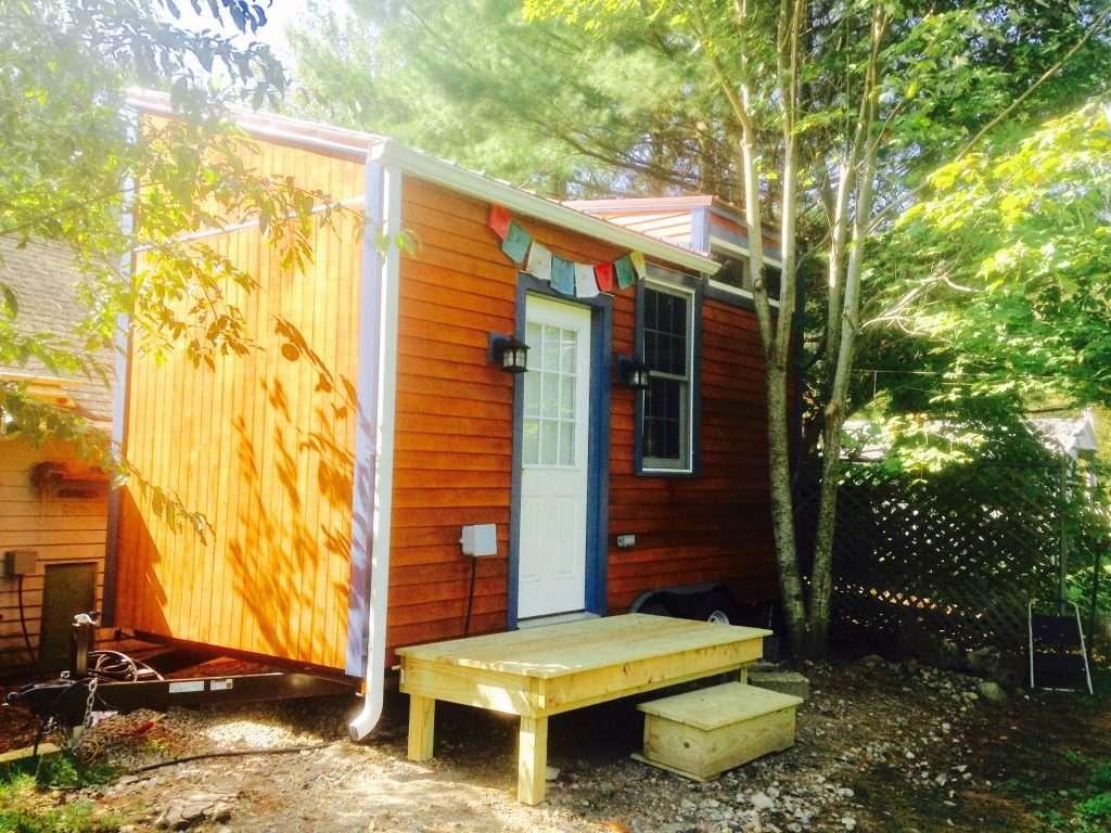 Tiny House exterior, Notch Hostel