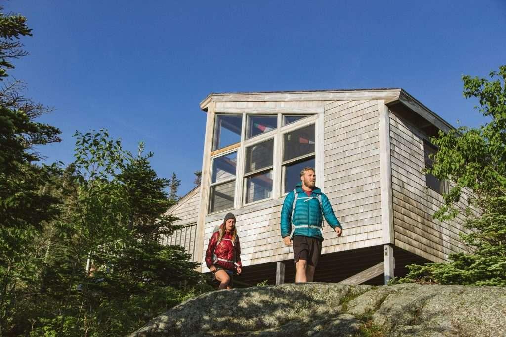 Crag Camp, an RMC hut.