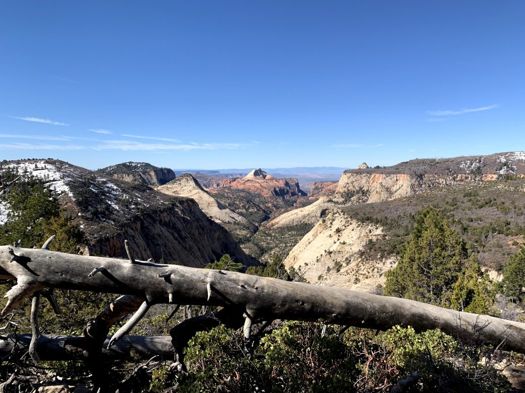 View into Wildcat Canypn